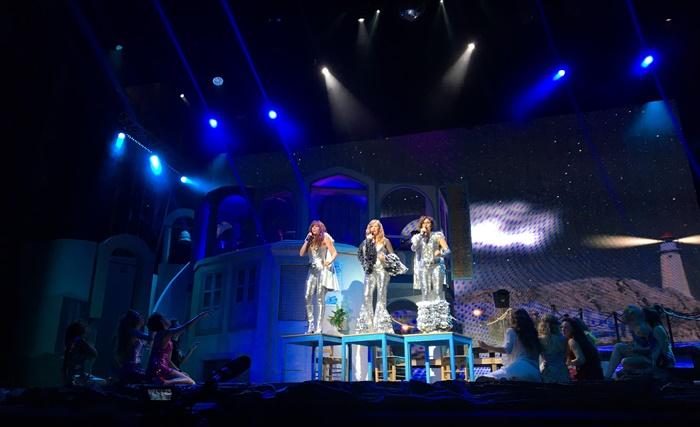 Mamma Mia tour estivo sistina zerkalo spettacolo