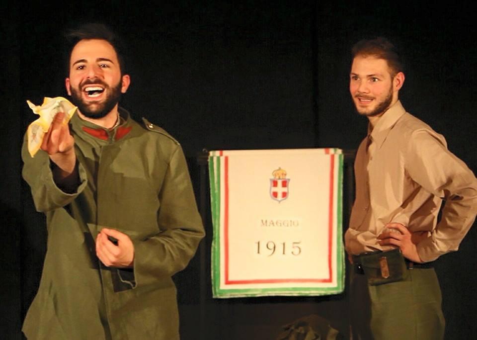 zerkalo spettacolo noi tre italiani teatro