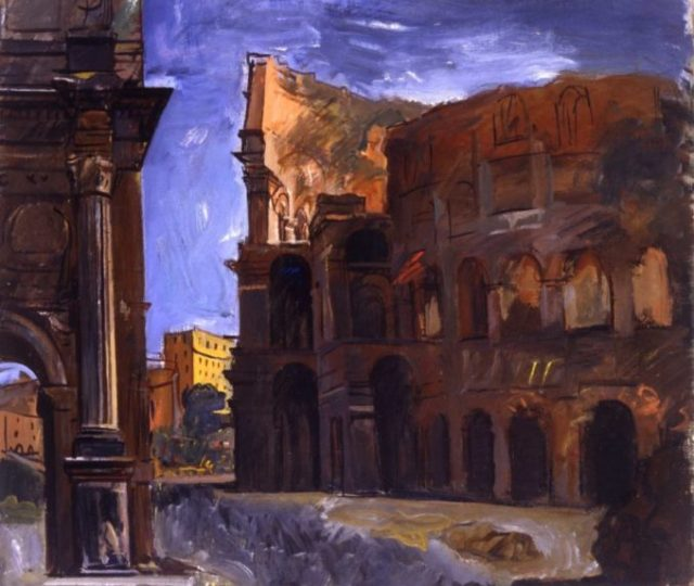 roma città moderna mostra gam zerkalo spettacolo