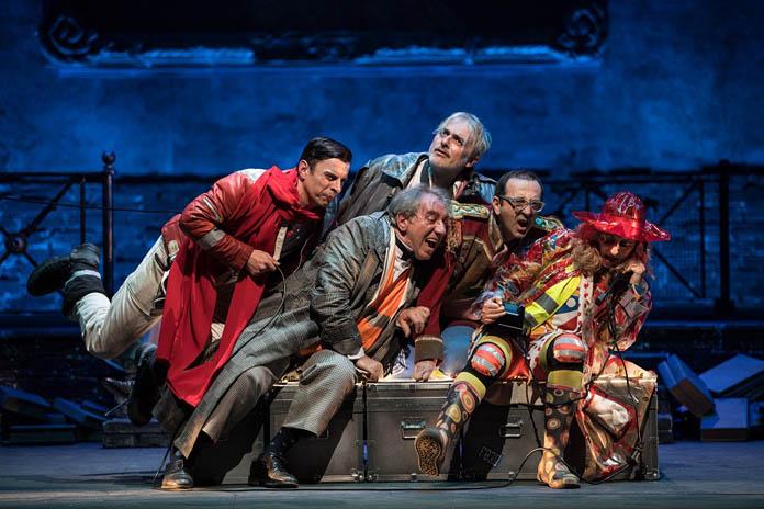 teatro eliseo ruggero cappuccio circus don chisciotte zerkalo spettacolo