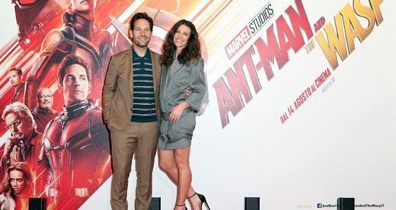 """Paul Rudd ed Evangeline Lilly supereroi in Ant-Man and The Wasp: """"Che famiglia meravigliosa la Marvel!"""""""