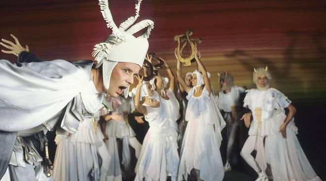 paolo poli mostra teatro valle zerkalo spettacolo