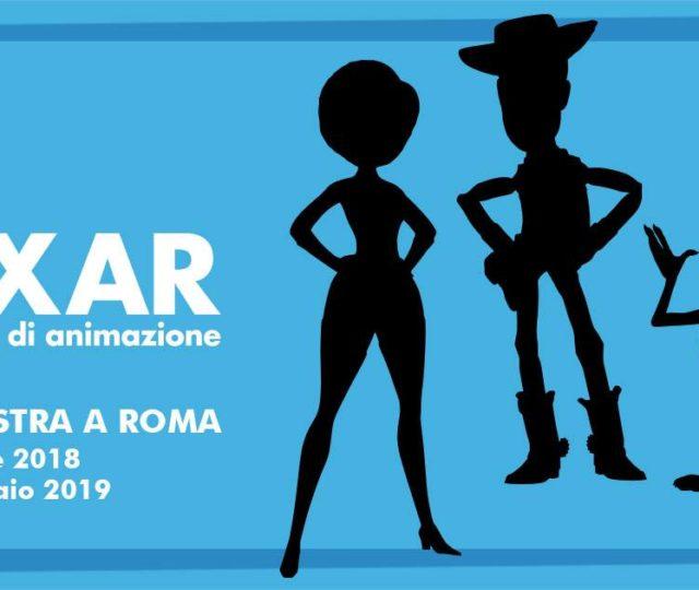 pixar mostra palazzo esposizioni zerkalo spettacolo