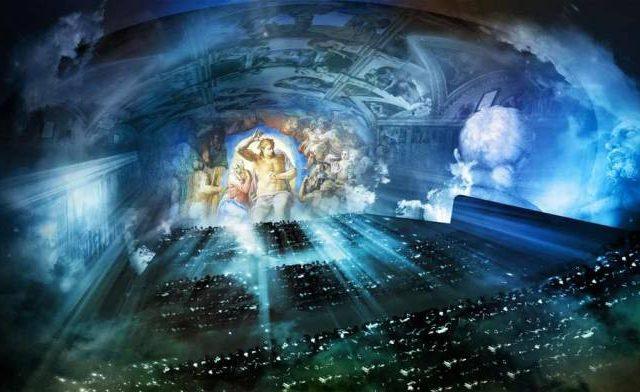 giudizio universale permanent show roma zerkalo spettacolo
