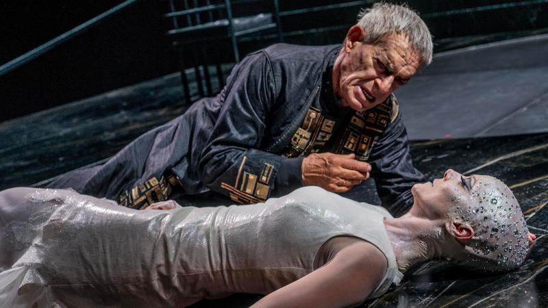 salomè teatro eliseo pagni aprea zerkalo spettacolo