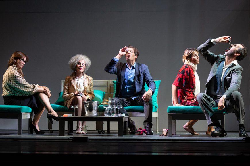 Bella Figura Teatro Ambra Jovinelli zerkalo spettacolo