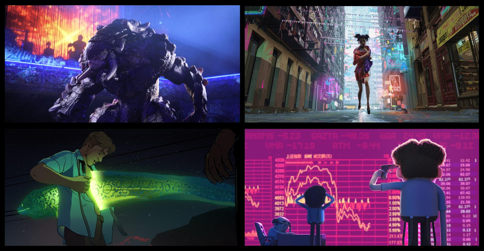 Love, Death & Robots zerkalo spettacolo