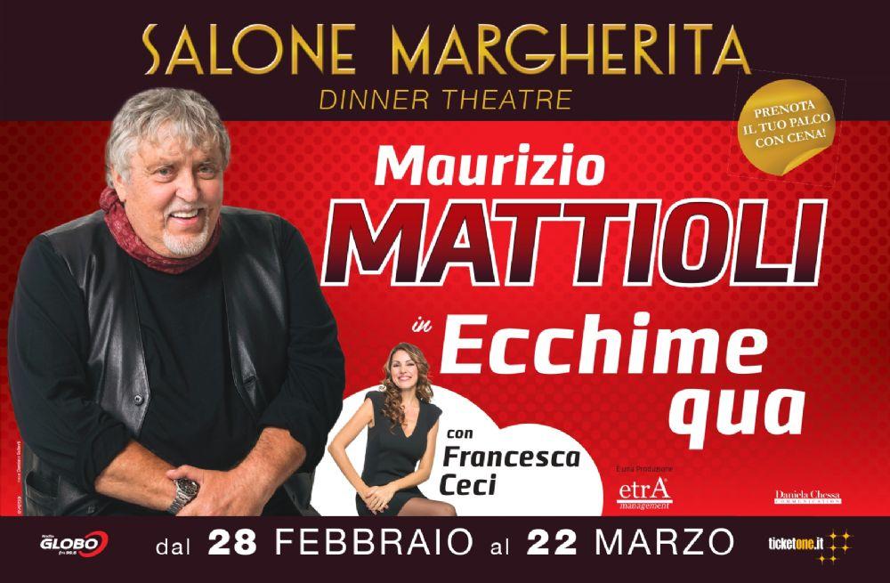 Maurizio Mattioli torna alle origini con Ecchime qua in scena al Salone Margherita zerkalo spettacolo