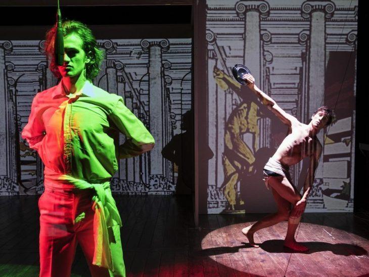 tango glaciale reloaded teatro india zerkalo spettacolo