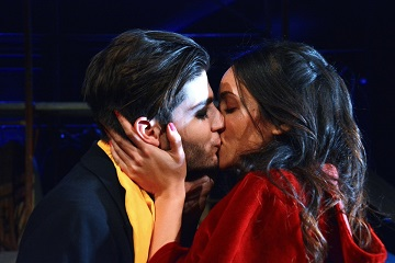 Romeo l'ultrà e Giulietta l'irriducibile sala umberto zerkalo spettacolo