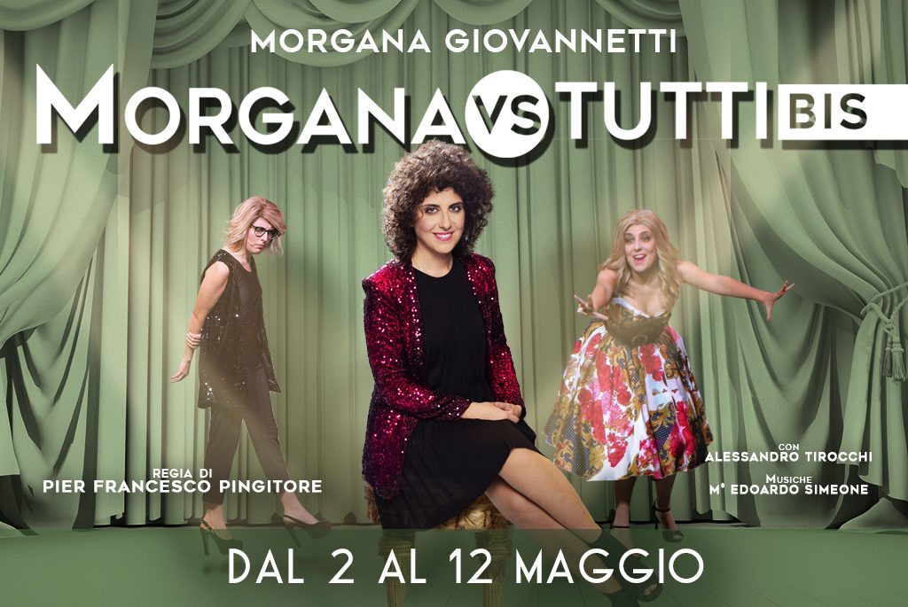 Morgana vs tutti bis Salone Margherita zerkalo spettacolo