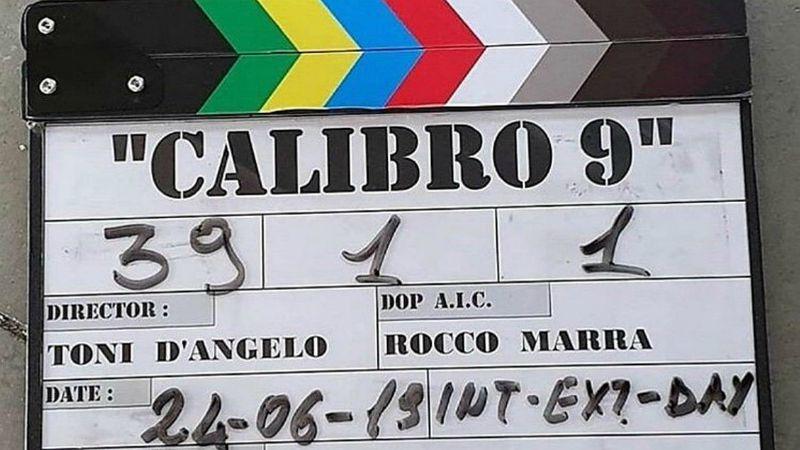 Calibro 9 inizio riprese zerkalo spettacolo