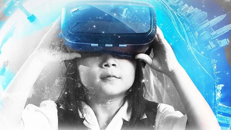 The Art of VR zerkalo spettacolo