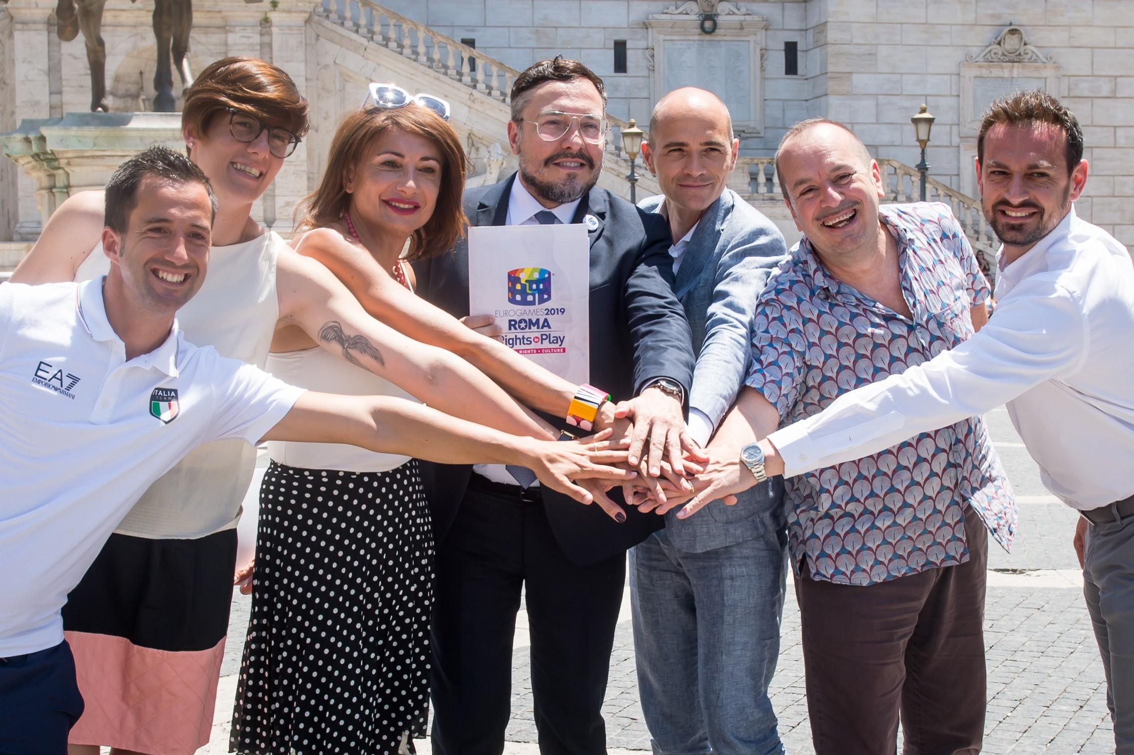 eurogames 2019 roma zerkalo spettacolo