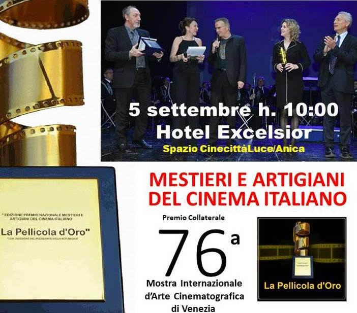 La Pellicola d'Oro Venezia 76 candidati zerkalo spettacolo