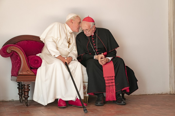 the two popes zerkalo spettacolo