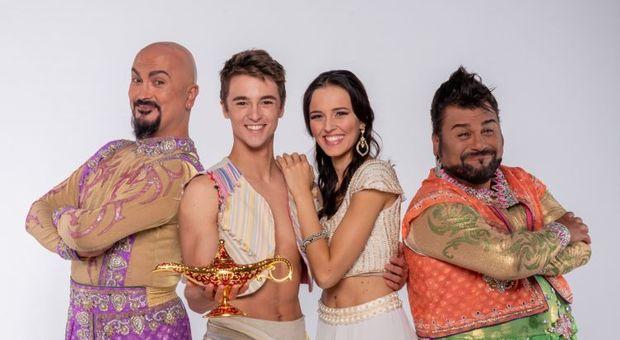 Aladin il Musical Geniale teatro brancaccio zerkalo spettacolo