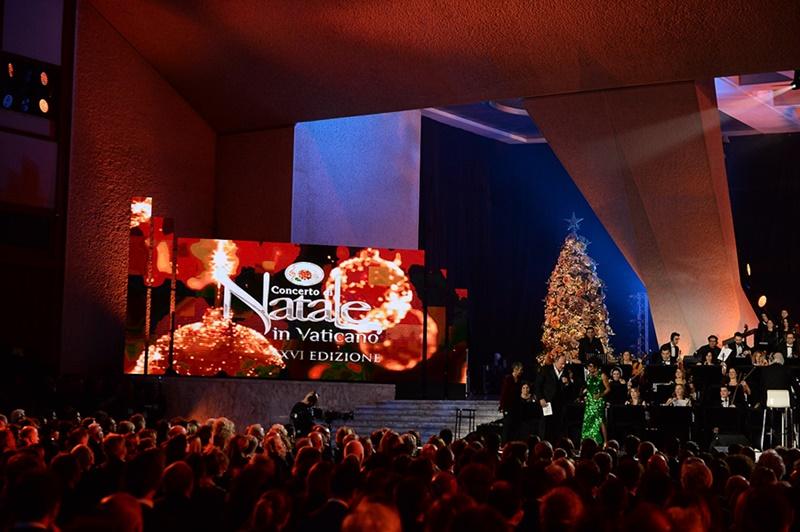 Concerto di Natale in Vaticano 2019 zerkalo spettacolo