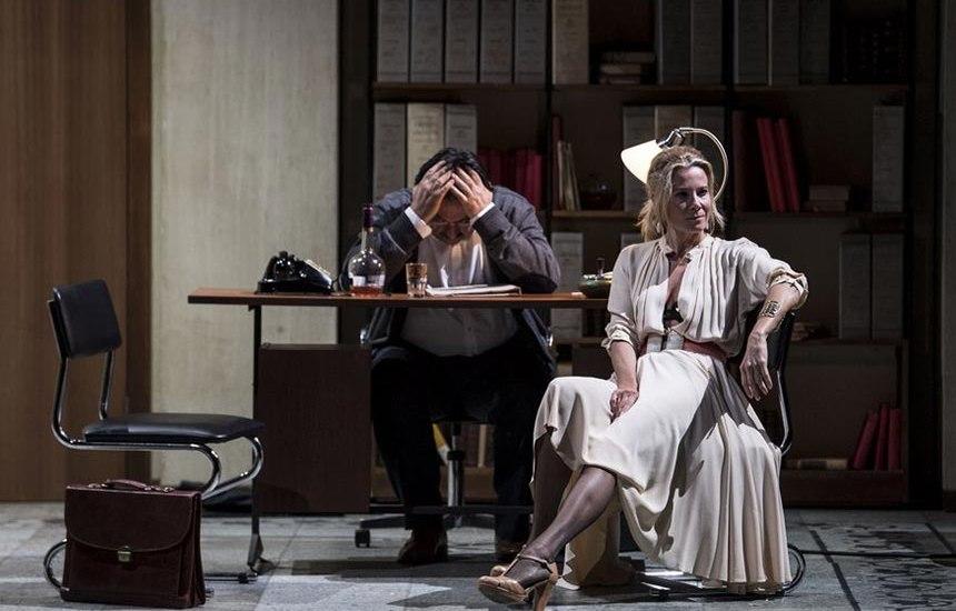Scene da un matrimonio Andrei Konchalovsky Teatro Eliseo zerkalo spettacolo