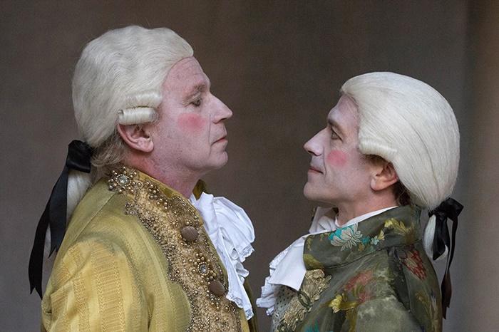 Amadeus Teatro Quirino zerkalo spettacolo