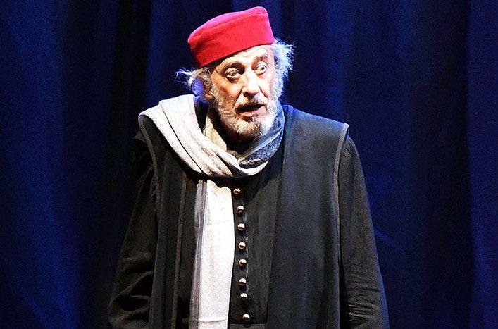 Il Mercante di Venezia con Mariano Rigillo in scena al Teatro Ghione zerkalo spettacolo