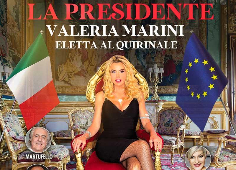La Presidente Valeria Marini apre la nuova stagione del Salone Margherita zerkalo spettacolo