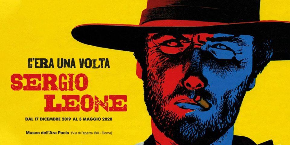 Sergio Leone mostra Ara Pacis zerkalo spettacolo