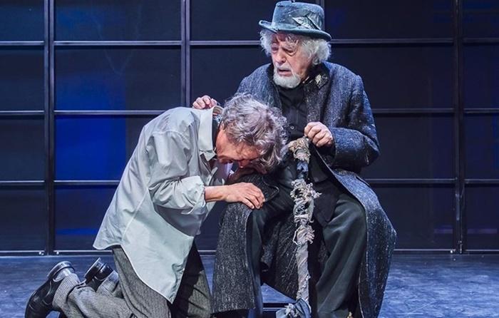 Glauco Mauri al Teatro Eliseo affronta per la terza volta il Re Lear di Shakespeare zerkalo spettacolo