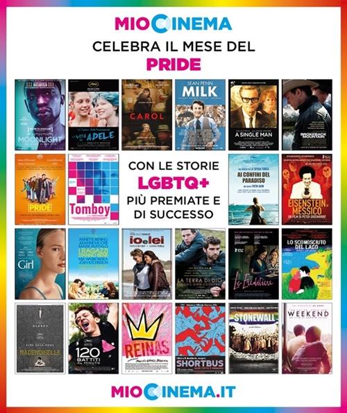 MioCinema, una rassegna di 22 film per celebrare il mese del Pride zerkalo spettacolo