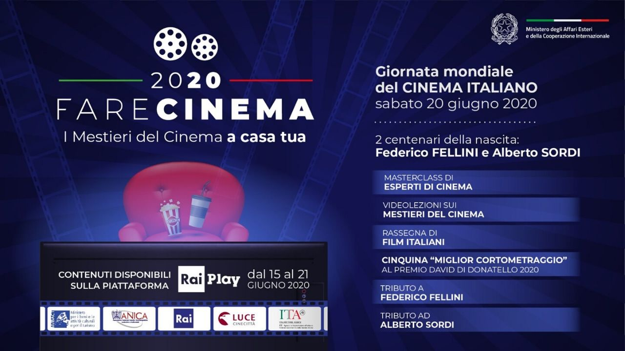 Fare Cinema, i corti italiani candidati ai David 2020 disponibili su RaiPlaydal 15 al 21 giugno zerkalo spettacolo
