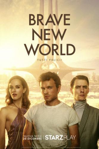 Brave New World, anticipazioni e prime immagini della serie di fantascienza di Starzplay zerkalo spettacolo