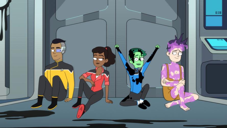 Star Trek: Lower Decks, la nuova serie comedy animata di Amazon Prime Video anticipazioni zerkalo spettacolo