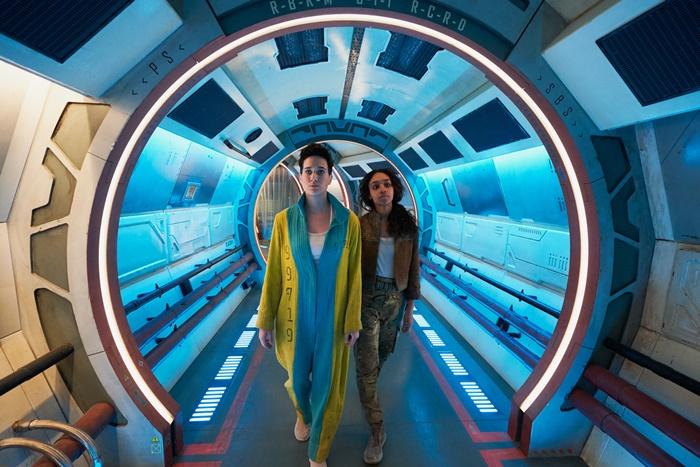 INTERGALACTIC, anticipazioni e prime immagini della nuova serie sci-fi al femminile di Sky zerkalo spettacolo