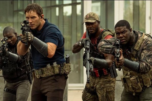La guerra di domani, le prime immagini del film di Amazon con Chris Pratt zerkalo spettacolo