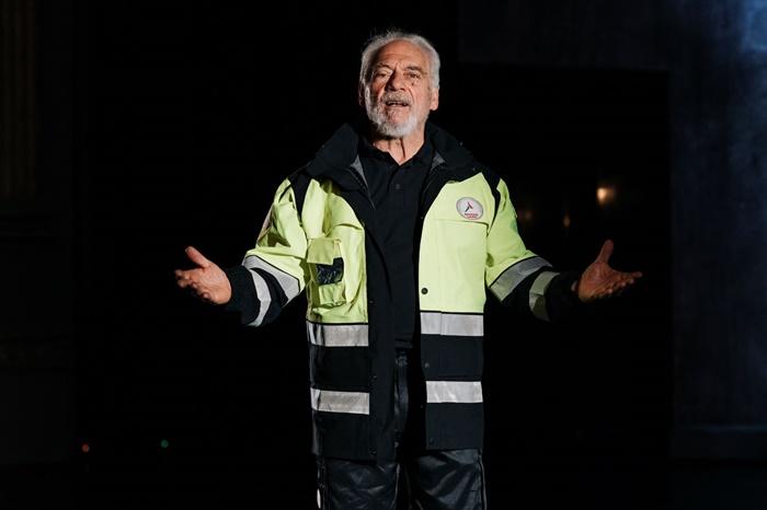 Argentina, la Divina Commedia recitata a memoria da Giorgio Colangeli zerkalo spettacolo
