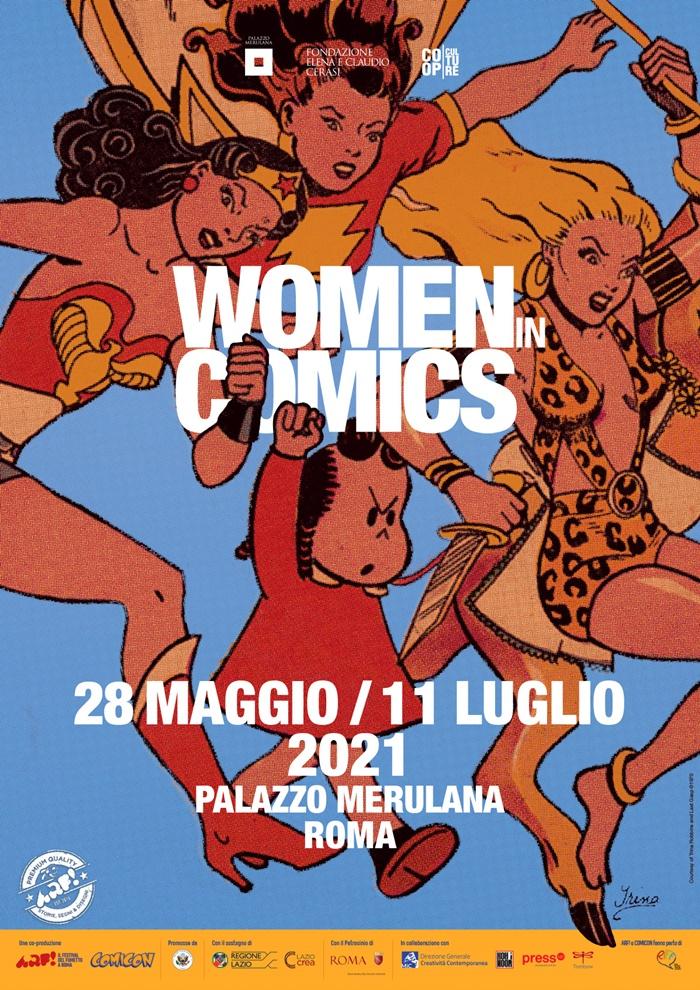 Women in Comics, a Palazzo Merulana le artiste che hanno fatto la Storia del fumetto nordamericano zerkalo spettacolo