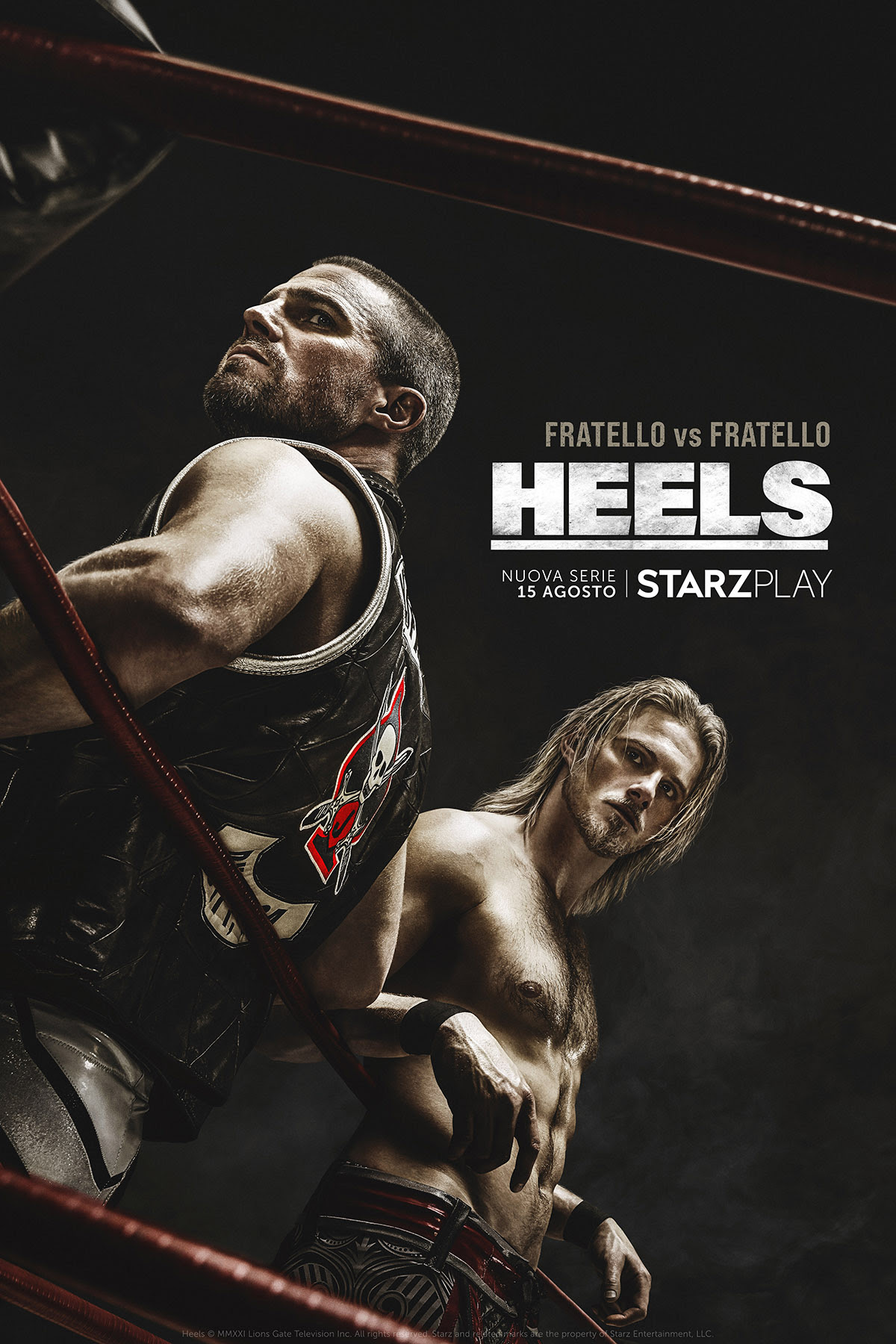Heels, tutto sulla nuova serie Starz Original ambientata nel mondo del wrestling zerkalo spettacolo