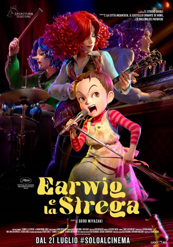Earwig e la Strega, al cinema l'ultimo film dello Studio Ghibli realizzato interamente in CGI 3D zerkalo spettacolo