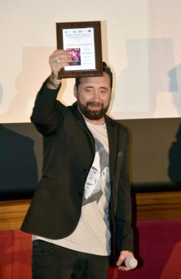 federico zampaglione premiato al roma videoclip 2021