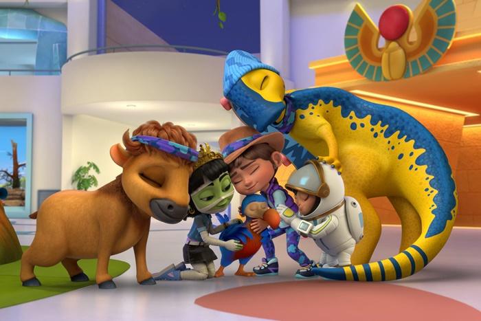 RIDLEY JONES, su Netflix la serie animata creata da Chris Nee zerkalo spettacolo