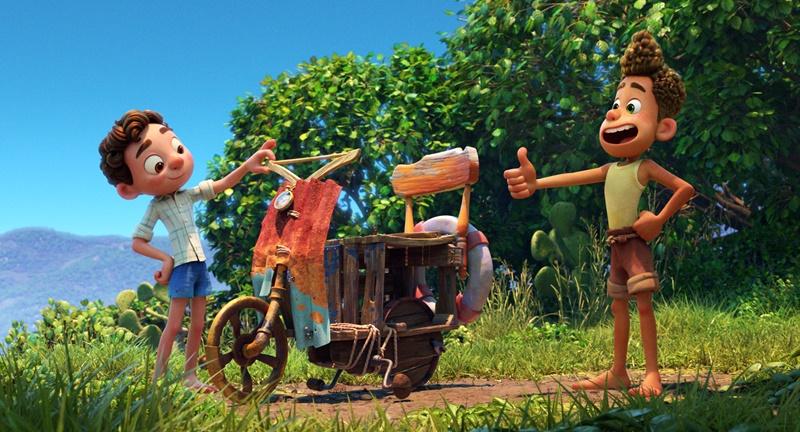 Luca, recensione del nuovo film Disney Pixar ambientato in Liguria zerkalo spettacolo