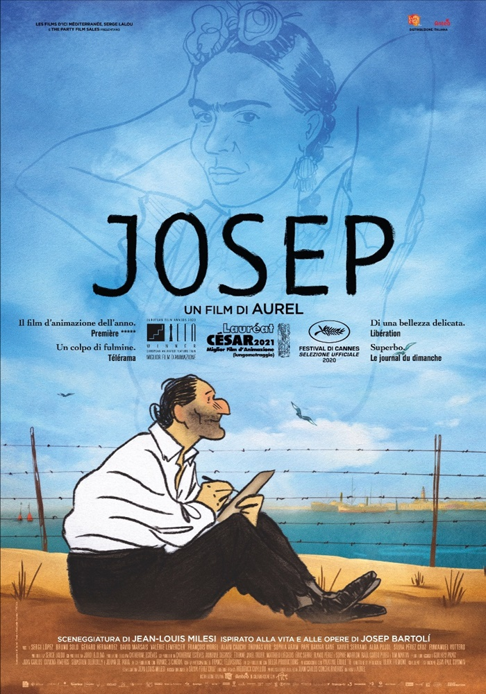 JOSEP, al cinema il film d'animazione ispirato alla vita e alle opere di Josep Bartolí zerkalo spettacolo
