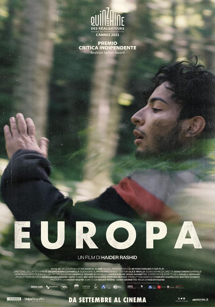 Cannes 2021: in sala EUROPA, il film dell'italiano diHaider Rashid premiato allaQuinzaine zerkalo spettacolo