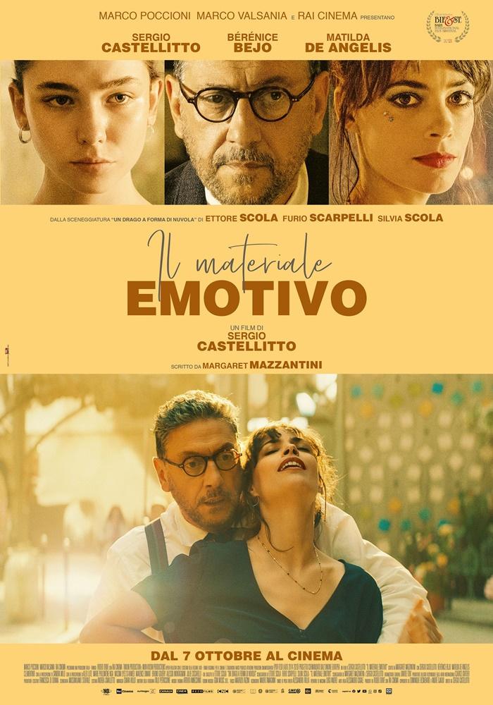 Il materiale emotivo, anticipazioni del nuovo film di e con Sergio Castellitto zerkalo spettacolo