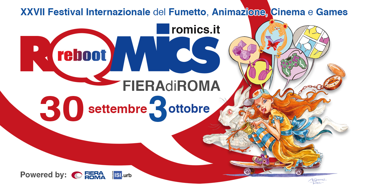 Romics 2021, svelati tutti gli ospiti e il programma completo zerkalo spettacolo