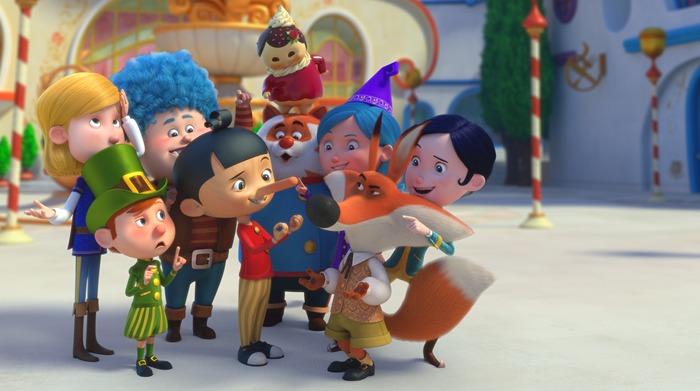 Il Villaggio Incantato di Pinocchio, la serie animata dai produttori diMontalbanozerkalo spettacolo