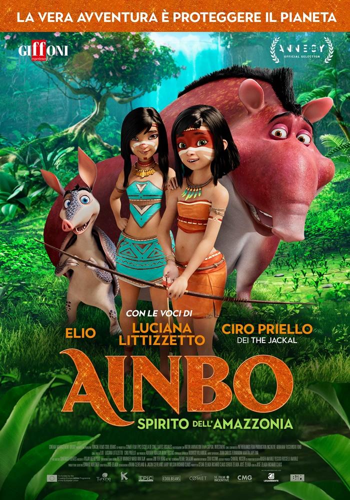 AINBO - Spirito dell'Amazzonia, al cinema il film animato con le voci di Elio, Littizzetto ePriello zerkalo spettacolo